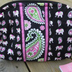 Pink elephant, Vera Bradley, Sminkväska,